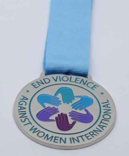 Virtual 5K EVAWI Medal